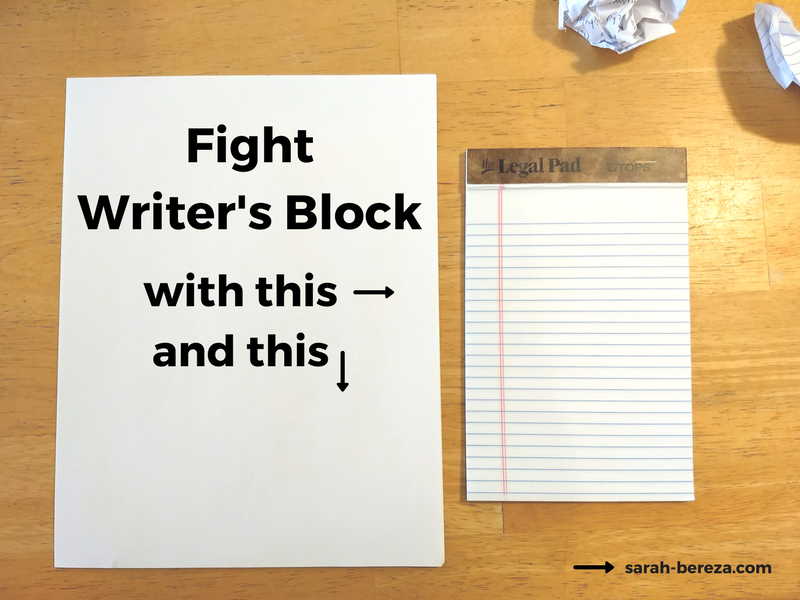 Writing Process: 2 Weapons to Fight Writer's Block